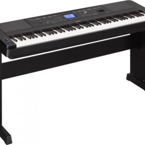 YAMAHA DGX660 PORTABLE KEYBOARD BLACK