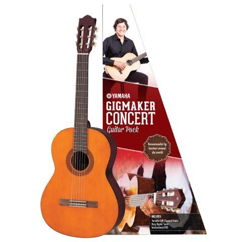 GIGMAKER CONCERT CLASSICAL GUITAR PACK GLOSS